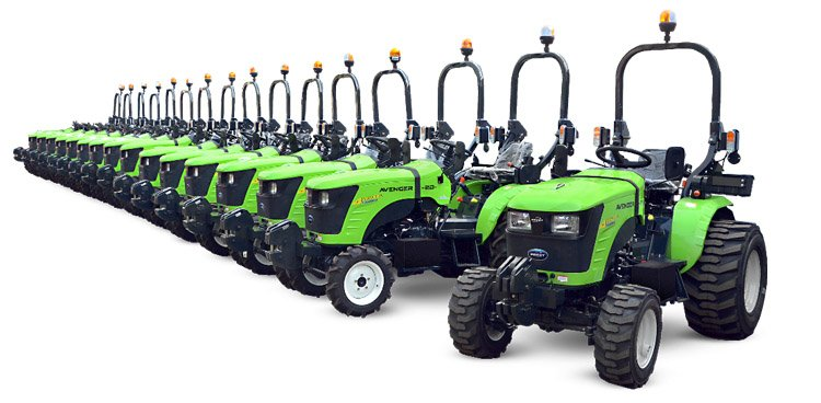 Micro tracteurs compacts Preet