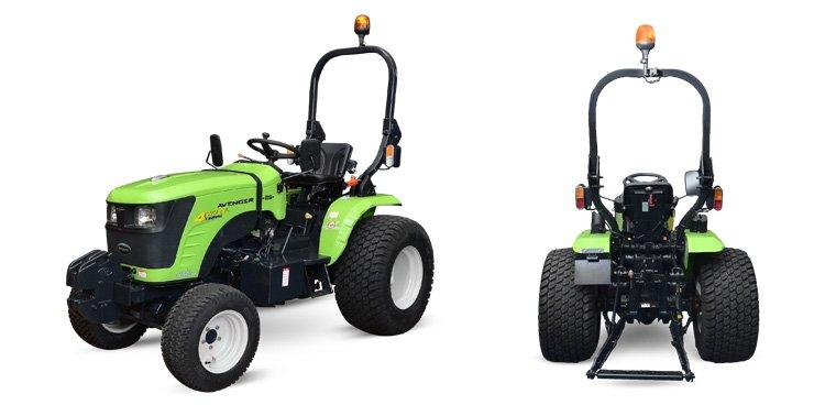 Micro tracteur Preet 26cv pneus gazon