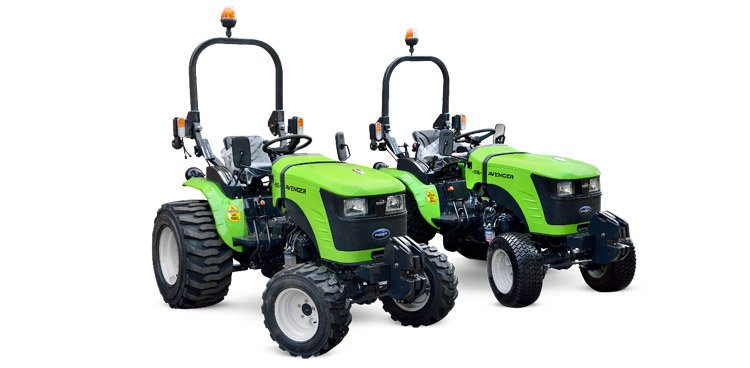 Tracteurs compacts Preet 26cv pneus industrie et gazon
