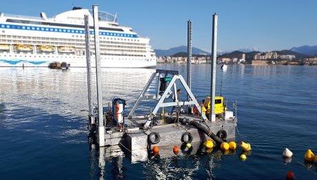 Barge sur mesure de dragage