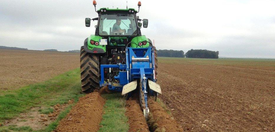 Trancheuse Liba drainage agricole