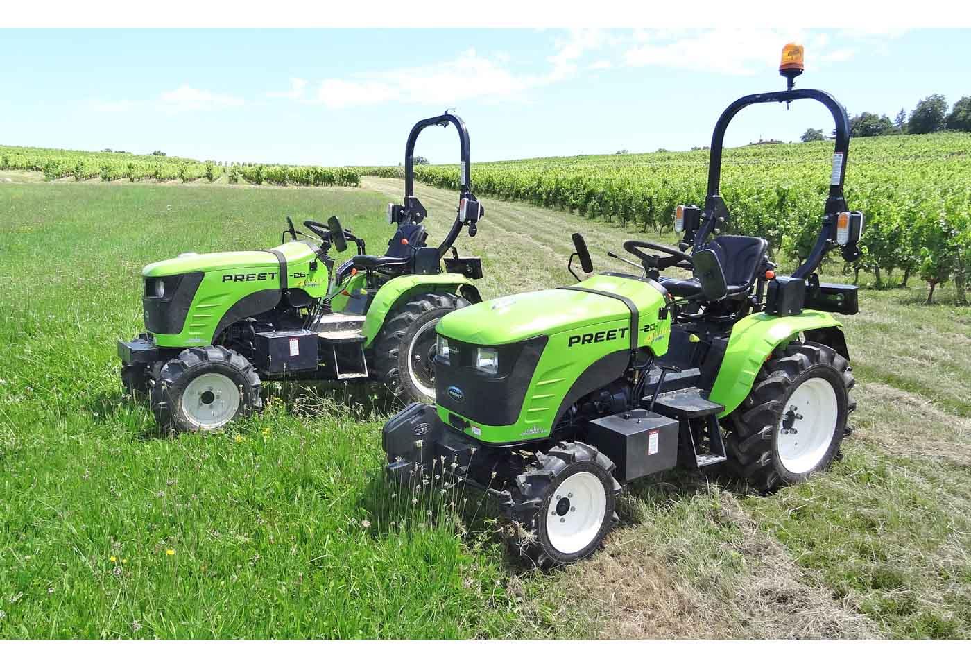 Micro tracteurs PREET 20cv 26cv