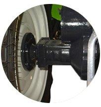 Pont arrière trompette tracteur Preet
