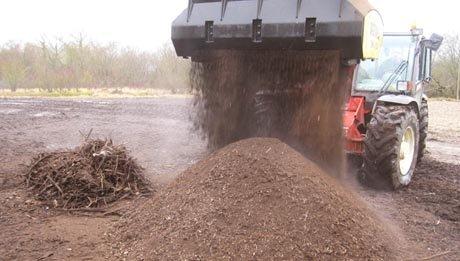 Godet cribleur Remu pour compost et terre végétale