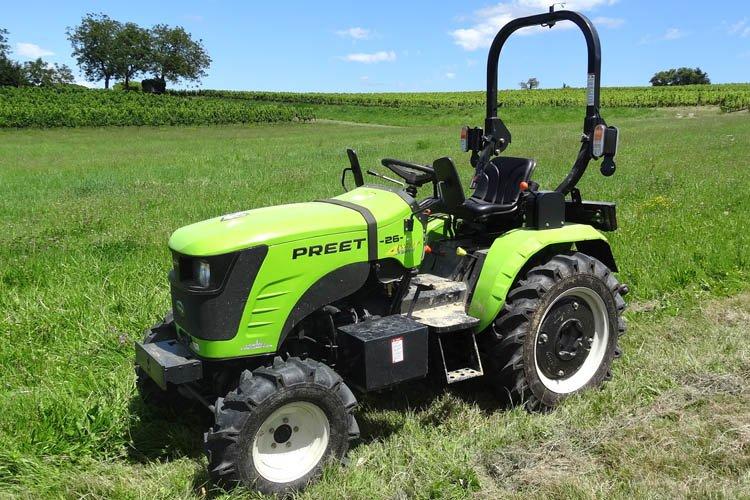 Micro tracteur PREET 26 ch