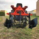 Arracheuse pomme de terre - outils micro tracteur Preet