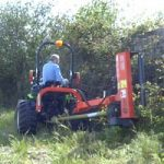 Outils pour micro tracteur Preet - Broyeur d'accotement