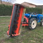 Broyeur d'accotement pour micro tracteur