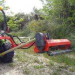 Broyeur d'accotement - outils pour micro tracteur Preet