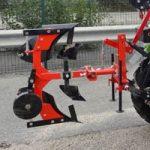 Charrue brabant outils pour micro tracteur Preet