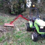 Epareuse - Outils pour micro tracteur Preet
