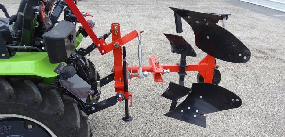 Charrue brabant pour micro tracteur Preet
