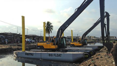 Montage big float en Cote d'ivoire - Actu Octobre 2020