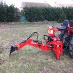 Pelle rétro - Outils micro tracteur