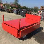 Remorque basculante - outils micro tracteur