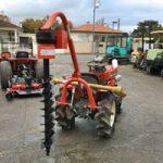 Tarière - Outils micro tracteur