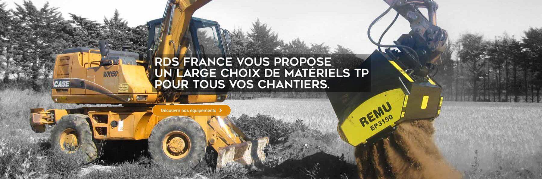 RDS France - Equipement multimétiers, de spécialistes à spécialistes