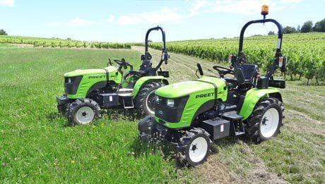 Micro tracteurs Preet 20 et 26 chevaux