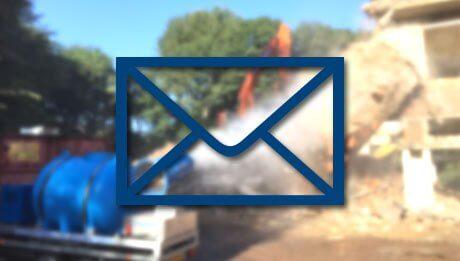Newsletter Avril 2021 - Canon Brumisateur chantier démolition