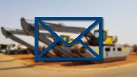 Newsletter Juillet 2021 - Pelles amphibies Big Float Eiffage Sénégal